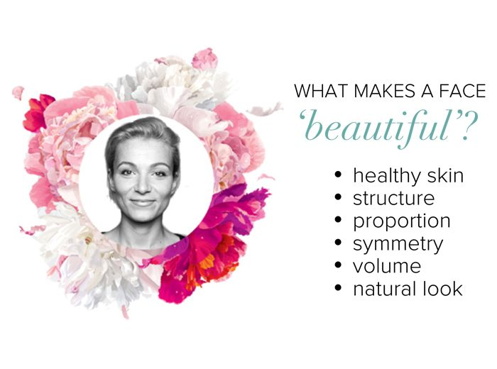 what makes a face beautiful?