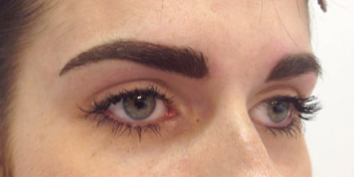 micro pigmentation feather touch designer brows Brisbane and Ipswich