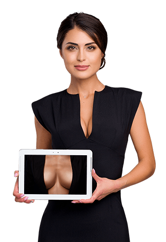 3D breast augmentation simulation clinic Brisbane