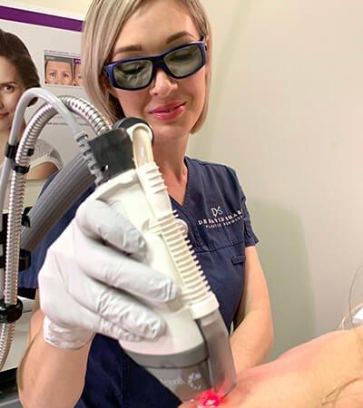 Fraxel laser clinic