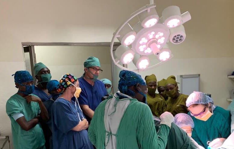 Medical Training in AFrica teaching